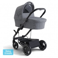 Коляска детская X-LANDER X-CITE 3 в 1 (azure grey x-pram light)